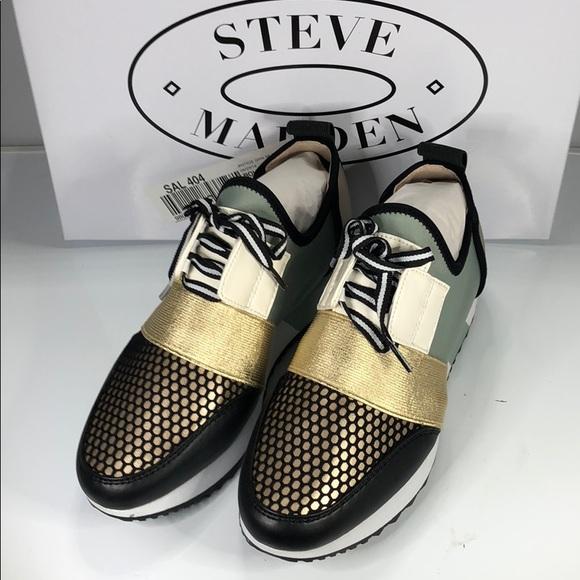 Steve Madden Shoes   Nwt Green Multi